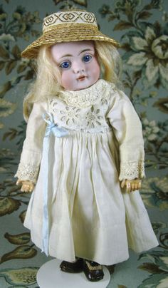 Awesome Antique Kestner 143 Character Face Bisque Head German Doll Sweetest | eBay