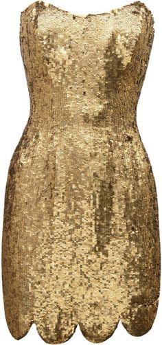 RACHEL GILBERT   Lexi Sequined Mini Dress
