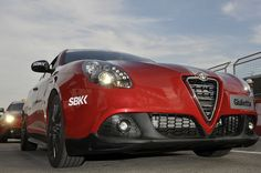 Alfa Romeo - The official Flickr's buddy icon  Giulietta: Official Car of 2012 SBK - GP Imola by Alfa Romeo - The official Flickr, via Flickr