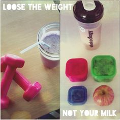 Loose the weight, no