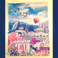 Magazine collage!