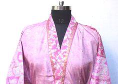 Boho Kimono, Male Kimono, Kimono Dress, Kimono Jacket, Vintage Kimono, Vintage Art, Funky Fashion, Boho Fashion, Festival Outfits