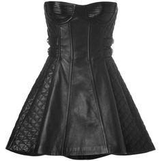 Strapless Genuine Leather High Low Dress Designer Inspired ($200) ❤ liked on Polyvore featuring dresses, sweetheart neckline cocktail dress, mini cocktail dress, sexy evening dresses, sexy cocktail dresses and ruffle cocktail dress