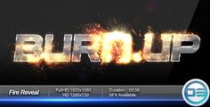 Play preview video, https://videohive.net/item/fire-reveal/460571/?ref=upra