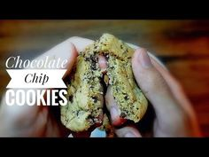 How To Make Delicious Chocolate chip Cookies Delicious Chocolate, Cookie Desserts, Chocolate Chip Cookies, Vegetables, Cooking, Sweet, How To Make, Foods, Youtube
