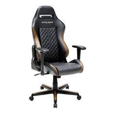 Kvalitní kožené provedení herní židle DXRACER, užijte si hru na plno :)