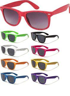 Clash / Elvis Costello/ Wayfarer-Style Cheap Sunglasses- SPOTS (Various Colors!) - only $4.99