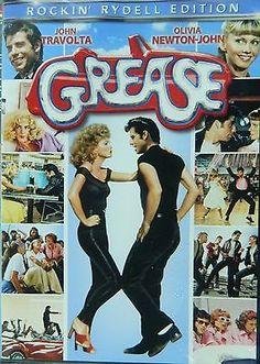 GREASE (1978) Rockin' Rydell Edition John Travolta Olivia Newton-John Sha-Na-Na