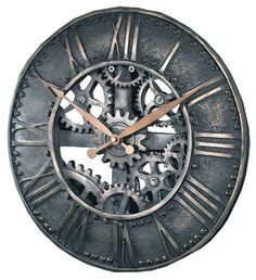 http://www.littleclockshop.com/images/products/forged_gear_clock.jpg