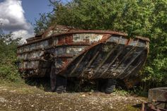 Where our military vehicles go to die... Inside the abandoned RAF airfield, now a vehicle graveyard. - http://www.warhistoryonline.com/war-articles/military-vehicles-go-die-inside-abandoned-raf-airfield-now-vehicle-graveyard.html