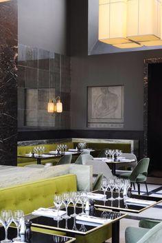 Monsieur Bleu At The Palais De Tokyo in Paris By Joseph Dirand   Restaurant Design   Design & Lifestyle Blog
