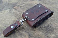 Cognac de portefeuille-homme portefeuille-en cuir carte