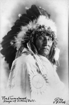 Red Tomahawk (c1849-1931), Sioux Indian who shot Sitting Bull. Was among the first to be a U.S. Indian Police at Fort Yates. Continued as police until 1895.