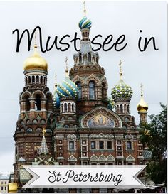 Always wanted to discover this amazing city? Pack you bags and let's go to Russia!