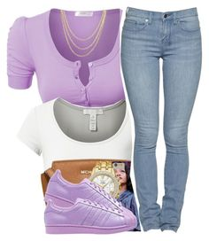 """""""100- The Game"""" by polyvoreitems5 ❤ liked on Polyvore featuring J.TOMSON, MICHAEL Michael Kors, Seiko, adidas Originals and Shashi"""