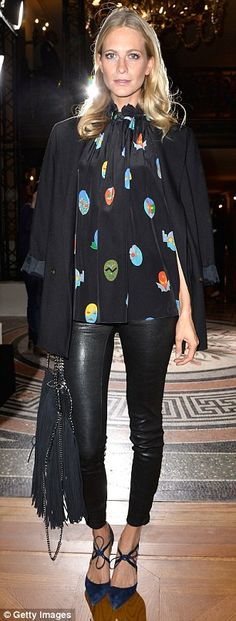 Special guests: Lily Donaldson and Poppy Delevingne were also in attendance at the Stella ...