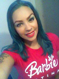 Beauitful with Aqua Rush Aqua Hair, T Shirts For Women, Beautiful, Tops, Fashion, Moda, Fashion Styles, Fashion Illustrations