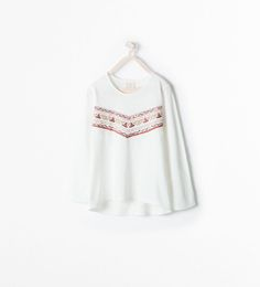 ZARA - KIDS - EMBROIDERED T-SHIRT