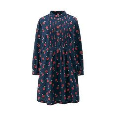 WOMEN Flannel Stand Long Sleeve Dress