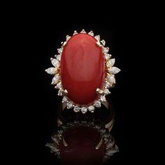 Coral & Diamonds