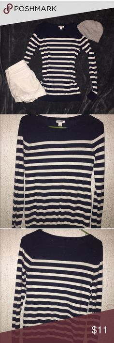 036cc4fa Navy and White Old Navy Boat Neck Striped Shirt Same Or Next Day Shipping  Old Navy