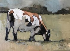 """""""Spur and Boot"""" - Originals - All Artwork - Peggy Judy Small Paintings, Animal Paintings, Animal Drawings, Cow Painting, Painting & Drawing, Farmhouse Paintings, Portrait Art, Portraits, Farm Art"""