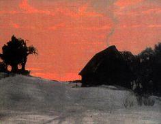 magictransistor:  Gustav Kampmann, Eclipse, 1903.