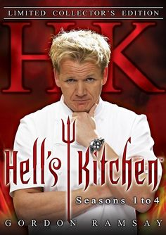 Hell's Kitchen: Seasons 1 to 4  Volatile superstar Chef Gordon Ramsay cranks up the ovens in the tantalizing prime-time hit