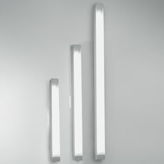2.5 Square Strip Wall Lamp by Artemide  - Opad.com