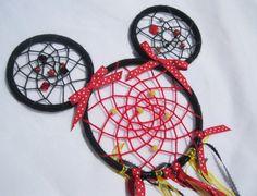 Minnie Mouse Inspired Dream Catchers Handmade by MyCaliRose