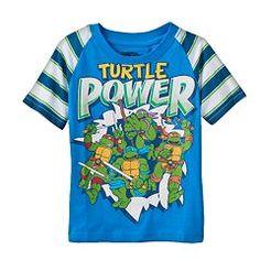 "Teenage Mutant Ninja Turtles Toddler Boy ""Turtle Power"" Tee"
