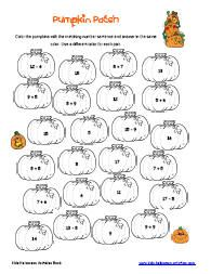 math worksheet : provide you with a range of graded subtracting to 10 sheets both  : Halloween Math Worksheets Kindergarten