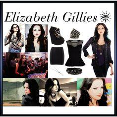 """Elizabeth Gillies <3"" by kybra on Polyvore"