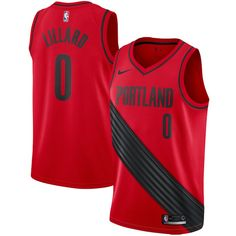 Damian Lillard Portland Trail Blazers Nike Swingman Jersey - Statement  Edition – Red ee523fdbb