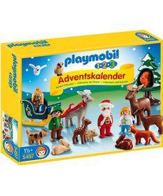 como nos gusta este calendario de adviento! #playmobil 1.2.3