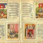 Im Lande des Christkinds, Einklebealbum Tage 15 bis 18, RLM um 1920