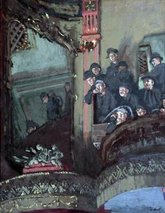 The Old Bedford, Walter Richard Sickert. Germany, Member of the Camden Town Group in London. Walter Sickert, Glasgow Museum, Art Nouveau, Walker Art, Camden Town, English Artists, British Artists, Oil Painting Reproductions, London Art