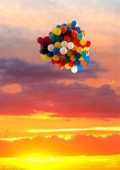 balloons in sunset - Yahoo! Image Search Results