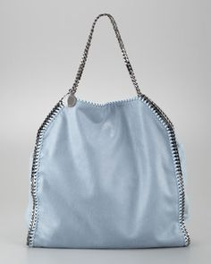 Falabella Tote Bag, Duck Blue by Stella McCartney at Neiman Marcus.