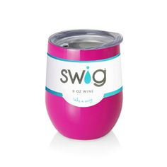 9oz Berry Swig. Insulated stemless wine tumbler-Craft Specialites & Keepsakes-CSKengraving