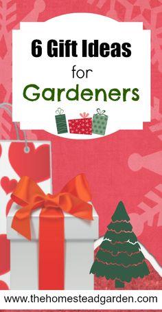 6 gift ideas for Gardeners