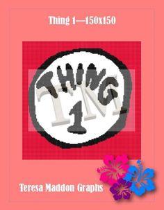 Name: 'Crocheting : Thing 1 - Handmade Crafts, Crocheting, Cross Stitch, Thing 1, Knitting, Canvas, Pattern, Crochet, Tela