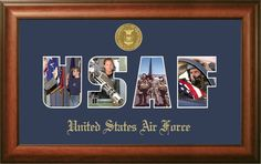 Air Force Collage Picture Frame
