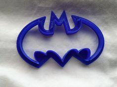 3D Printed Batman Logo Bat Signal Cookie Cutter. by TheSkimDotNet #batman #batsignal #kidskitchen #kitchengadgets #bat #batgirl #geekygifts #nerdygifts #batmancookie #cookiecutter #3dprint #plaplastic #batmansymbol #batmanlogo