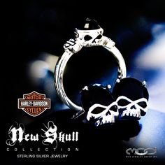 Valentine's Day is almost here. New Skull Collection from MOD, find them at participating Harley-Davidson Dealerships.