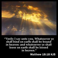 Matthew 18:18 KJB