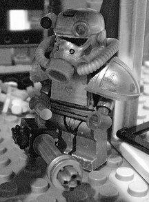 Fallout 3 custom minifig :)