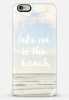 take me to the beach iPhone 6 Plus case by Sylvia Cook | Casetify Make yours and…