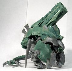 really love the meaty fists sheilding this Tyrannofex conversion.