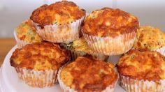 Pizza Muffins Rezept als Back-Video zum selber machen! Ganz einfach Schritt für Schritt erklärt!